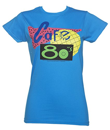 Womens Back to the Future Cafe 80s T Shirt