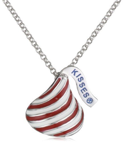hershey-jewelry-sterling-silver-medium-candy-cane-kiss-pendant-necklace-by-hershey-jewelry