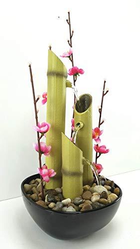 Bonseki Fontana Zen da interno tema bamboo. Personalizzabile, Made in Italy. Scopri le opzioni.