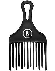 K-Pro Fingerstyler Afro Kamm grob - für Natur-Locken, Dauerwelle & Strähnen