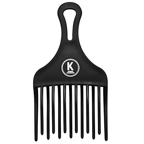 K-Pro Fingerstyler Afro Kamm Grob - Natur-Locken, Dauerwelle, Strähnen - 1 Stück -