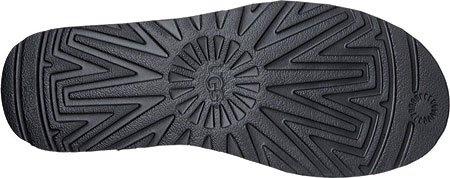 Tronchetto UGG Classic II Mini Serein in plastilina glitter nero Noir