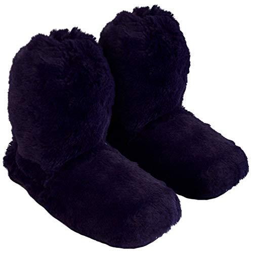 Thermo sox originale pantofola - scaldapiedi in altezza di una calza, riscaldate in microonde