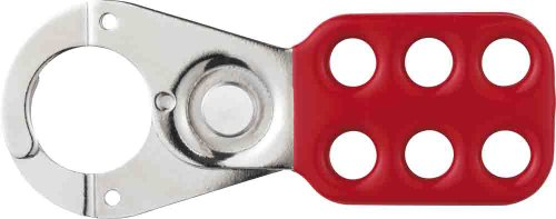 Abus - 701 Lock Out Haspe 1in Red 35766 4 - ABU701R