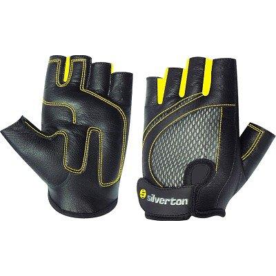 Silverton Fitness Handschuhe Lady, schwarz/gelb, L