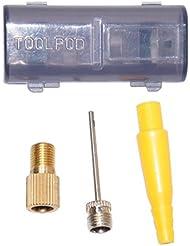 Voxom Uni ventiladapterkit vad23VERS. Válvulas Válvula adaptador, Negro, One size