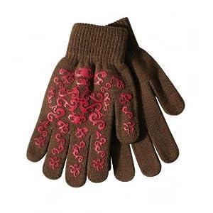 PFIFF Damen Handschuh mit Print Winterhandschuh