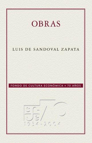Obras (Coleccion Conmemorativa 70 Aniversario nº 15) por Luis de Sandoval Zapata