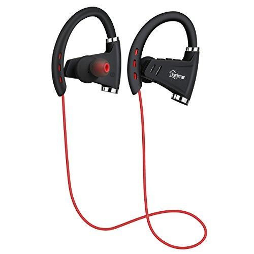 Bluetooth-Kopfhörer CSR 8635 von HELME, NFC, 10m Reichweite, Bluetooth 4.1, wasserdicht, Sicherer Sitz für Sport und Fitnessstudio, mit integriertem Mikrofon