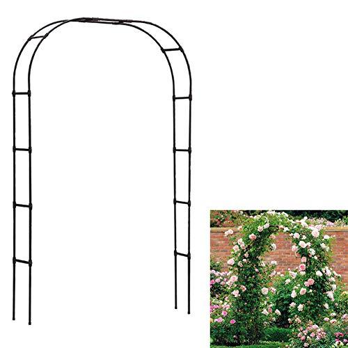 Blumenregal Arch Hochzeit Blumenständer for Pflanzenklettern Gartendekoration,Weiß,Big