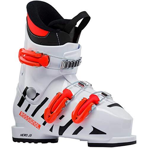 Rossignol Hero J 3 Skischuh Junior, Unisex Kinder, Unisex-Kinder, RBH5100, Weiß (White), 195