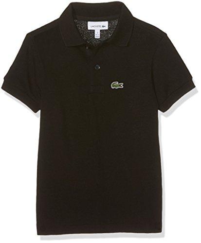 Lacoste Jungen Pj2909 Poloshirt, Schwarz (Noir), 14 Jahre (Herstellergröße: 14A)