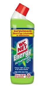 WC Net - Gel Energy Détartrant - 750 ml