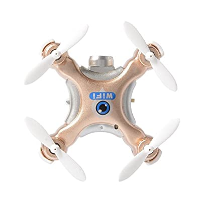 Cheerson CX-10W 2.4G 4CH 6 Axis iOS / Android APP Wifi Romote Control RC FPV Real Time Video Mini Quadcopter Helicopter Drone UFO with 0.3MP HD Camera RC195 by Xcsource