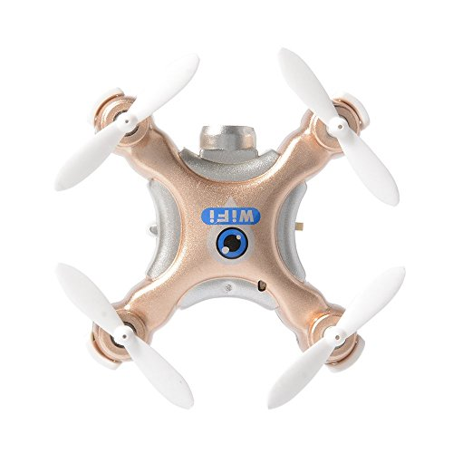 Cheerson CX-10W 2.4G 4CH 6 Achse iOS / Android App Wifi-Fernbedienung RC FPV Echtzeit Video Mini Quadcopter Hubschrauber Drone UFO mit 0.3MP HD Kamera RC195