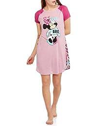 Disney Minnie Mouse Confetti Print Scoop Neck Sleep Night Shirt