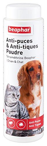 beaphar-poudre-antiparasitaire-la-ttramthrine-anti-puces-et-anti-tiques-chien-et-chat-150-g