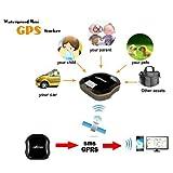 Mini wasserdicht GPS Tracker | GSM AGPS Tracking System für Kinder, Eltern, Haustiere, Autos - 3