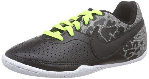 Elastico Fußballschuh (Nike JR Elastico II, Unisex-Kinder Fußballschuhe, Schwarz (Black/Black-Cool Grey-Volt 007), 27.5 EU)