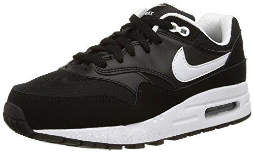 Nike Air Max 1 Gs, Baskets Basses Mixte Enfant Noir (Black 001)
