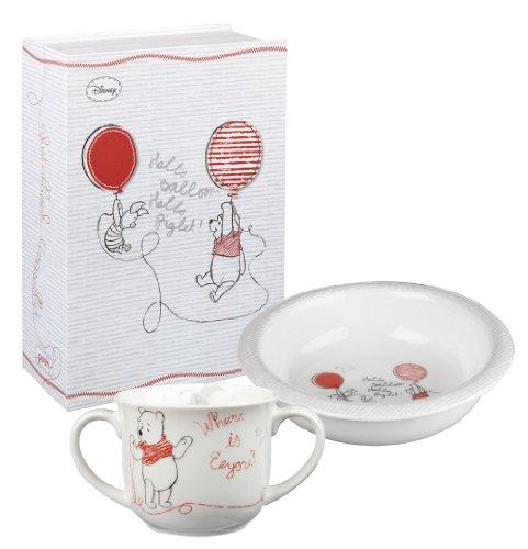 Disney - Juego de taza y cuenco (porcelana, contiene caja de regalo),