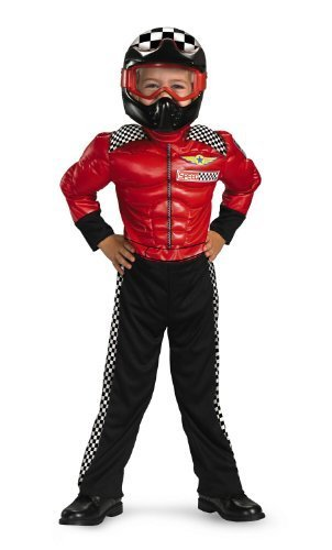 Turbo Racer 4-6 - Red Racer Kostüm