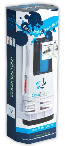 One2flush 200 Dual Flush Retrofit Kit by One2Flush