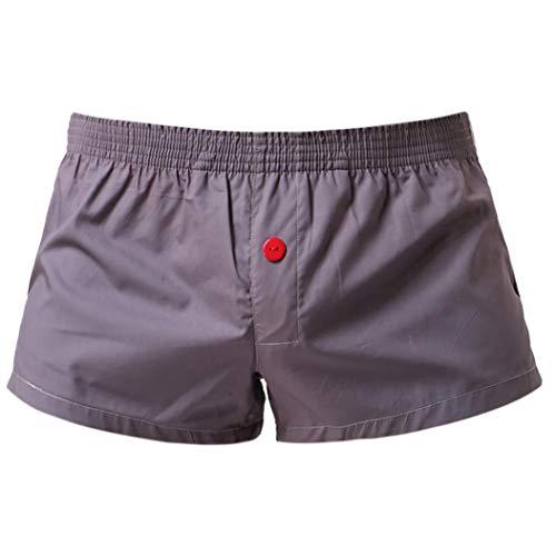 MOIKA Herren Boxershorts Baumwolle Boxershorts der Männer Baumwolle Arro Hosen lose große Größe Vier Ecken Home Hosen