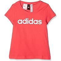 Adidas Yg Linear tee Camiseta, Niñas, (Rojo/Blanco), 140 (9/10 años) - Cosmética y perfumes - Comparador de precios