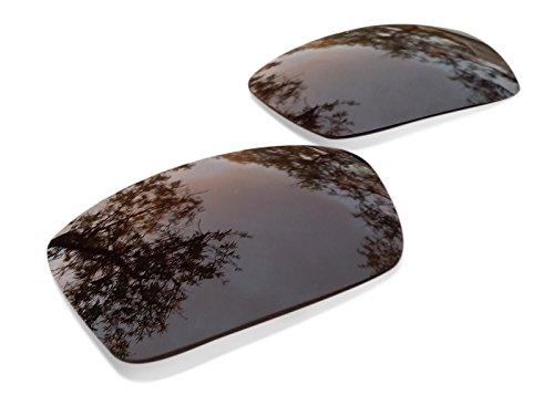 sunglasses restorer Ersatzgläser für Oakley Fives Squared 3.0 (Polarisierte Brown Linsen)