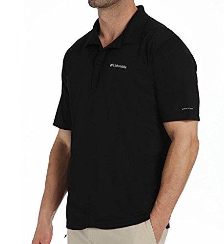 ro Rules II Polo 1779511010_L - Black (Columbia Pfg Polo-shirts)