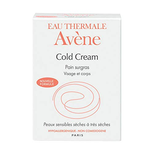 Avene Cold Cream Ultra Rich Cleansing Bar For Dry