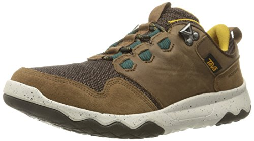 Teva Arrowood WP, Scarpe da Arrampicata Basse Uomo, Marrone (Brown-Brnbrown-Brown), 42 EU