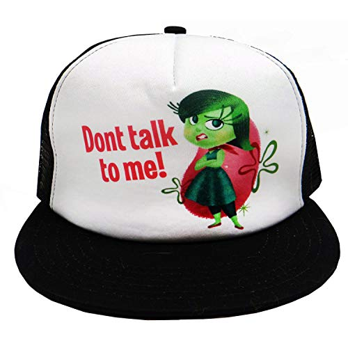 Disney Inside Out Dont talk to me! Snapback Trucker Hat
