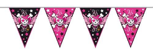 �dchen, Wimpelkette, Piraten Party, Pirate Girl ()