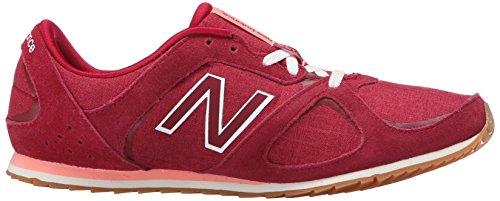 New Balance Women's WL555 Casual Athletic Running Shoe Horizon Red