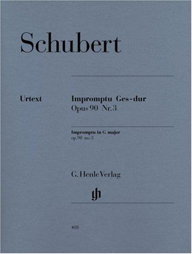Impromptu Op.90/3 D899 Solb Maj. - Piano