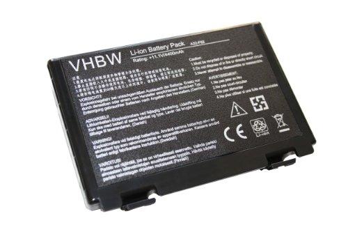 vhbw Li-Ion Akku 4400mAh (11.1V) für Notebook Laptop Asus F52, F82, Ff83s, K40, K40e, K40ij, K40in, K50 wie A32-F82, A32-F52, L0690L6.