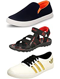 Jabra Shoes And Sandal Combo Pack Of 3