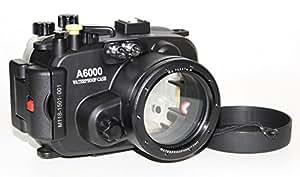 D & D NB PRO Boîtier avec fuite Warner pour Sony A6000avec objectif 16–50mm