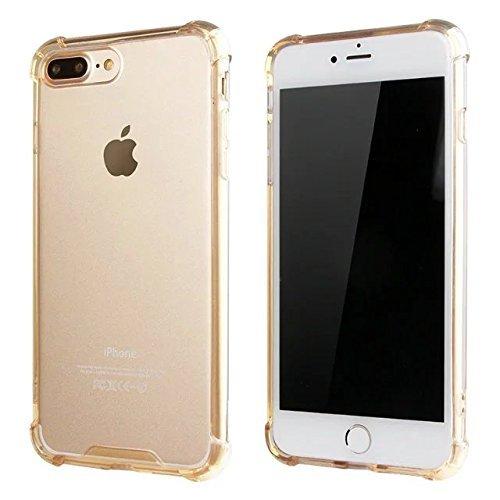 iPhone 7 Hülle TPU Case, AVIDET Ultra Slim TPU Case für iPhone 7 Schutzhülle (Lila) Gold