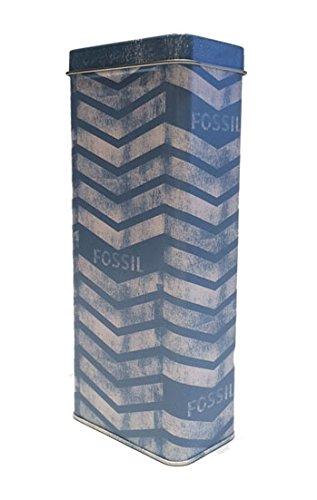 fossil-brillenetui-dose-mit-hartschalenetui-und-microfasertuch-blau