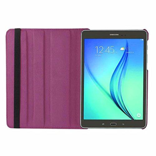 Tasche für Samsung Galaxy Tab S2 9.7 SM-T810 T811 T813 T815 T819 9.7 Zoll Schutz Hülle Flip Tablet Cover Case S 2 (Lila) Neu - S2 Case Lila