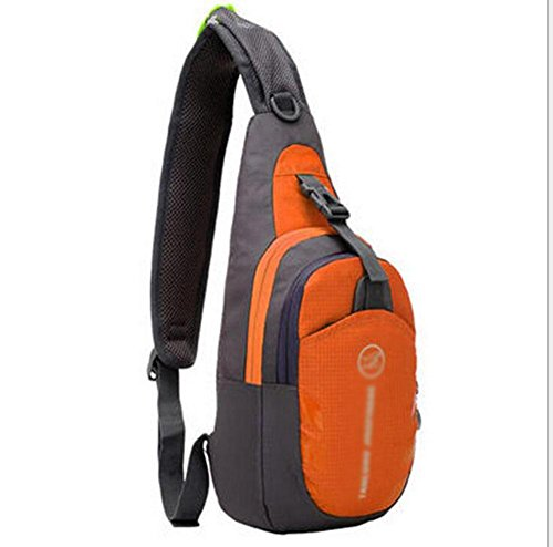 GBT Koreanische Version Von Casual Outdoor-Sport-Utility-Messenger Tasche Brust Orange