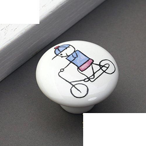 Kinder Keramik Griff/Cartoon-handle/Kleid Schuh Schranktür,Kupfer Armaturen/Rustikal Land Griffe-B (Armaturen Für Kleid, Schuhe)