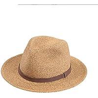 CFHJN Home Cappello Donna Summer Jazz cap Fashion Cappello di Paglia Visiera  Parasole (Color   5f0d9fde8e74