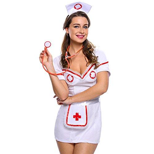 Shangrui Weibchen Cosplay Kostüm Serie Nachtverschiebung Krankenschwester (Kostüme Harley Quinn Heiße)