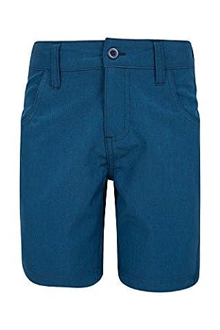 Mountain Warehouse Short Bermuda Enfant Garçon Ado Léger Ray Bleu 11-12 ANS
