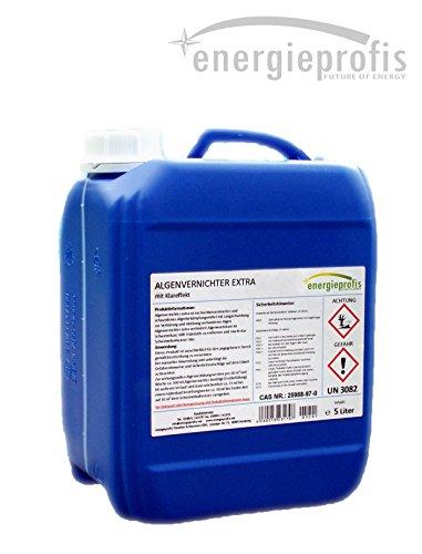 5 L Algenvernichter schaumfrei Algenex Algizid Pool (Entfernen Arsen-filter)