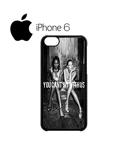 You Cant Sit With Us Funny Swag Mobile Phone Case Back Cover Hülle Weiß Schwarz for iPhone 6 White Schwarz
